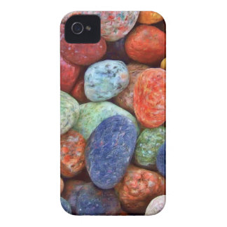 Colorful Stones, Rocks and Pebbles Gifts iPhone 4 Covers