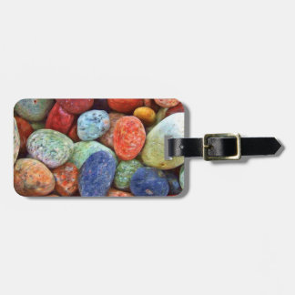 Colorful Stones, Rocks and Pebbles Gifts Tag For Luggage