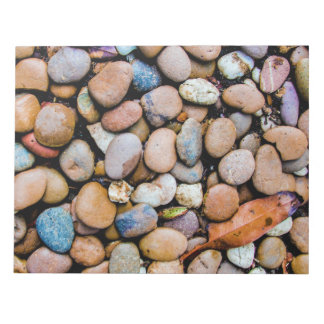 Colorful Stones Rocks Pebbles Notepad