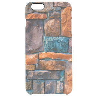 colorful stonewall clear iPhone 6 plus case