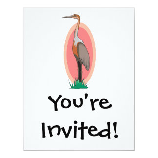 colorful stork card