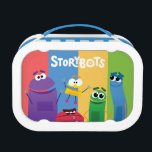 """Colorful StoryBots Lunch Box<br><div class=""""desc"""">Be ready for school everyday with this StoryBots Lunch Box.</div>"""