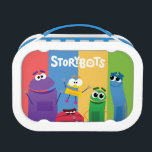 "Colorful StoryBots Lunch Box<br><div class=""desc"">Be ready for school everyday with this StoryBots Lunch Box.</div>"