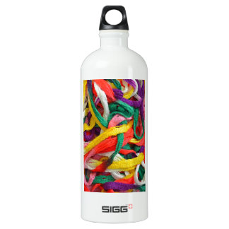Colorful strands of yarn SIGG traveler 1.0L water bottle