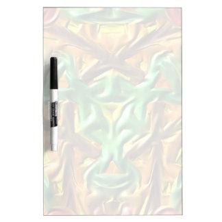 Colorful strange pattern Dry-Erase board