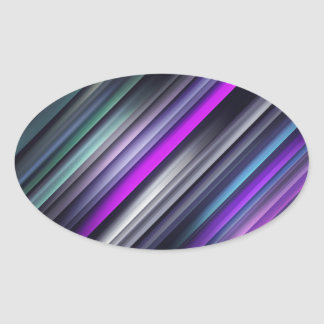 Colorful Streaks Stickers