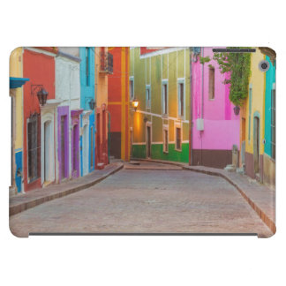 Colorful street scene cover for iPad air