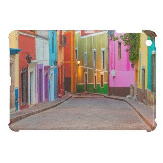 Colorful street scene iPad mini cover