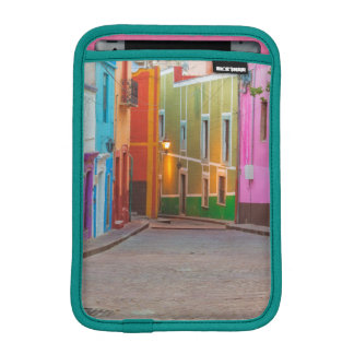 Colorful street scene iPad mini sleeve