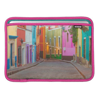 Colorful street scene sleeve for MacBook air