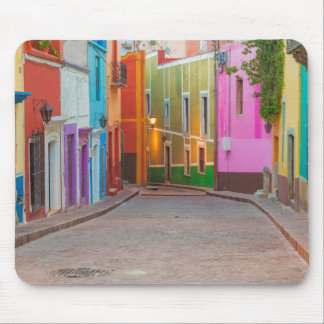 Colorful street scene mouse pad
