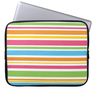 Colorful Stripe Laptop Sleeve