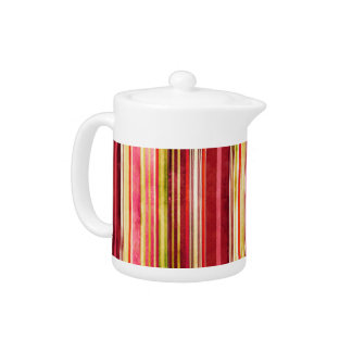 Colorful Stripe Pattern Yellow Green Pink Red