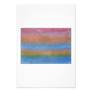 Colorful Striped Abstract Invite