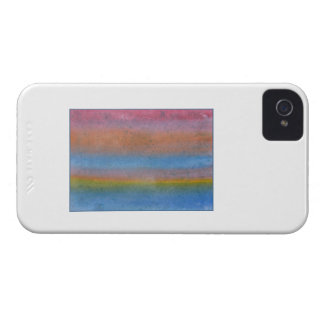 Colorful Striped Abstract. iPhone 4 Cover