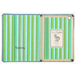 Colorful Striped Pattern Lined DODO iPad Air Case