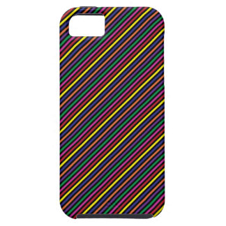 Colorful Striped Rep Pattern iPhone 5 Cases