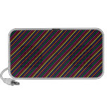 Colorful Striped Rep Pattern iPhone Speaker