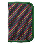 Colorful Striped Rep Pattern Planners