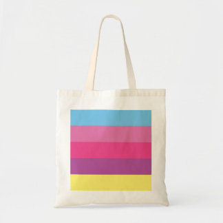 Colorful Stripes Color Blocking Bags