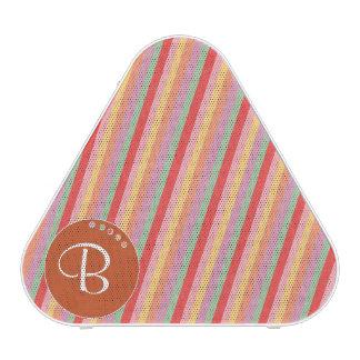 Colorful Stripes Customizable Fun Speaker