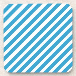 Colorful Stripes Design Coasters