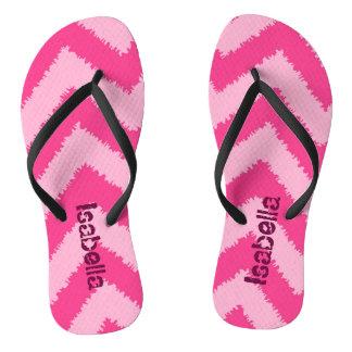 Colorful stripes flipflop flip flops