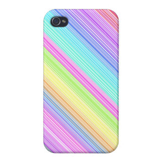Colorful Stripes iPhone 4/4S Cover