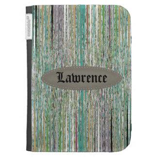 Colorful Stripes Kindle Case
