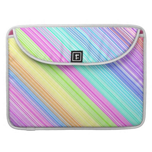 Colorful Stripes MacBook Pro Sleeves