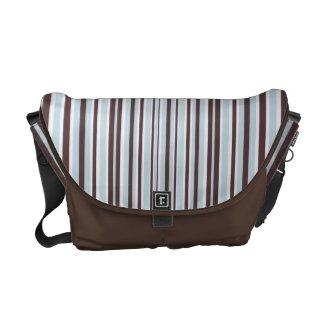 Colorful Stripes Messenger Bag rickshawmessengerbag