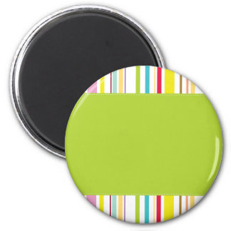 Colorful Stripes, Mint Magnet