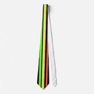 colorful stripes neck tie