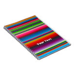 Colorful Stripes Notebook