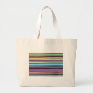 colorful stripes OF buzzer Large Tote Bag