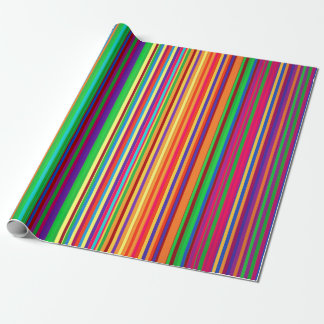 Colorful stripes pattern illustration wrapping paper