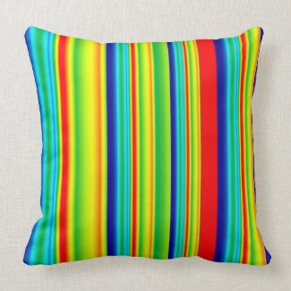 Colorful Stripes Pillows