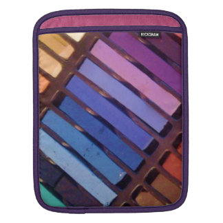Colorful Stripes (Pink, purple, green, yellow) Sleeve For iPads