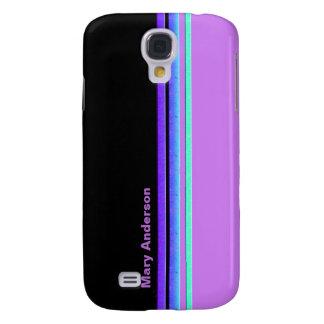 colorful stripes samsung galaxy s4 case