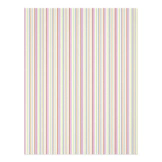 colorful stripes scrapbook paper