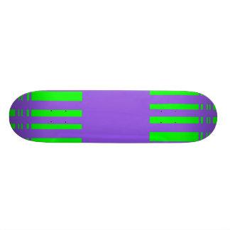 Colorful stripes skate boards