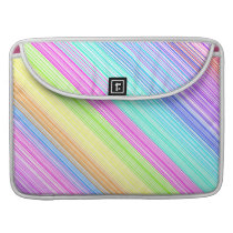 Colorful Stripes Sleeve For MacBooks