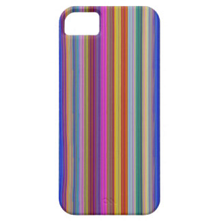 Colorful stripes template add text image graphics iPhone SE/5/5s case