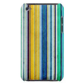 Colorful Stripes With Texture Barely There iPod Covers