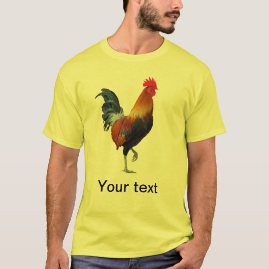 Colorful Strutting Rooster T-Shirt