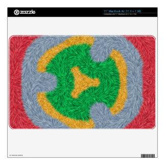 Colorful stylish pattern MacBook skin