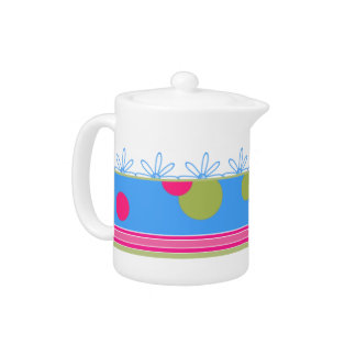 Colorful Stylish Tea Pot