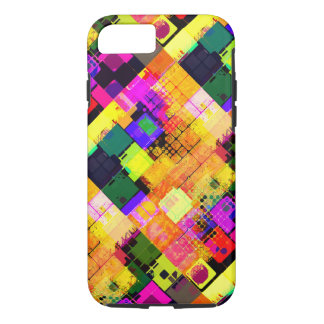 Colorful Stylish Tile Pattern iPhone 7 Tough Case