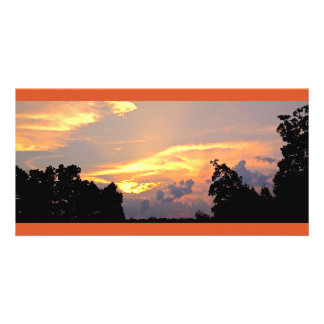 Colorful Suburban Sunset #2 Photo Cards