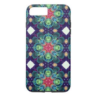 Colorful Succulent Garden Cactus Kaleidoscope iPhone 7 Plus Case